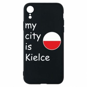 iPhone XR Case My city is Kielce