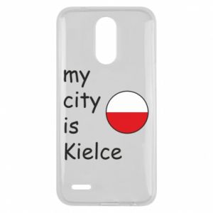 Lg K10 2017 Case My city is Kielce