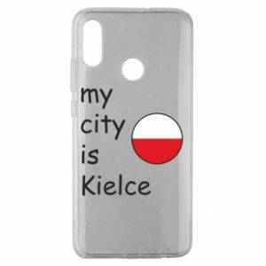 Huawei Honor 10 Lite Case My city is Kielce