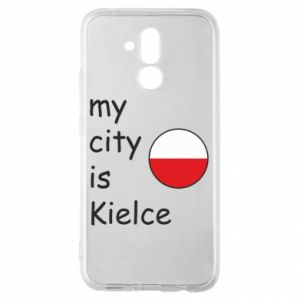 Huawei Mate 20Lite Case My city is Kielce