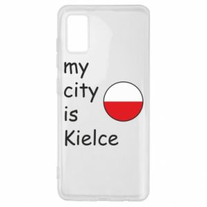 Samsung A41 Case My city is Kielce