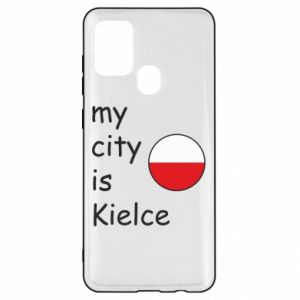 Samsung A21s Case My city is Kielce