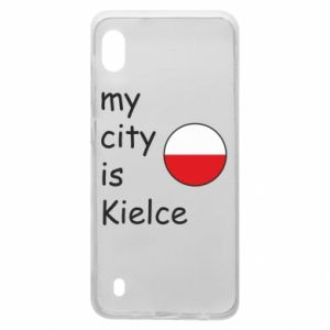 Samsung A10 Case My city is Kielce