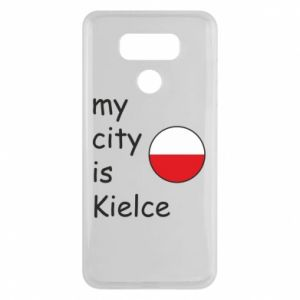 LG G6 Case My city is Kielce