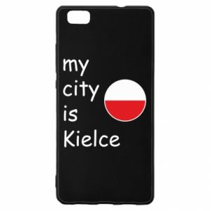 Huawei P8 Lite Case My city is Kielce