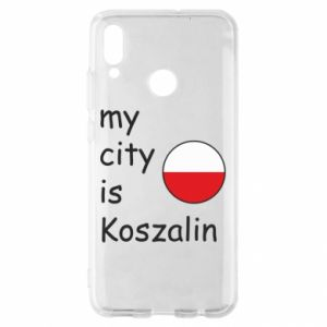 Huawei P Smart 2019 Case My city is Koszalin