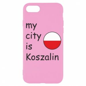 iPhone SE 2020 Case My city is Koszalin