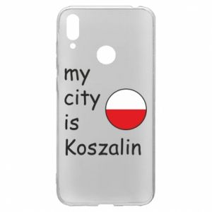 Huawei Y7 2019 Case My city is Koszalin