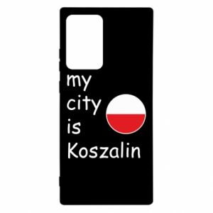Samsung Note 20 Ultra Case My city is Koszalin