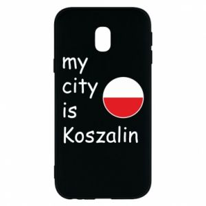 Samsung J3 2017 Case My city is Koszalin