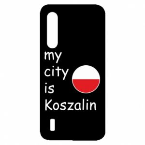 Xiaomi Mi9 Lite Case My city is Koszalin