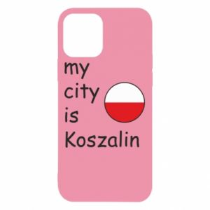 iPhone 12/12 Pro Case My city is Koszalin