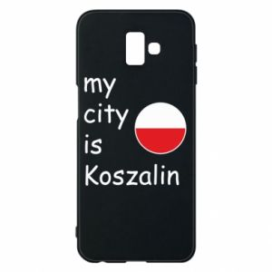 Samsung J6 Plus 2018 Case My city is Koszalin