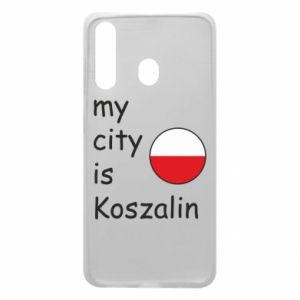 Samsung A60 Case My city is Koszalin