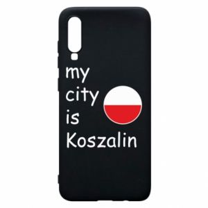 Samsung A70 Case My city is Koszalin