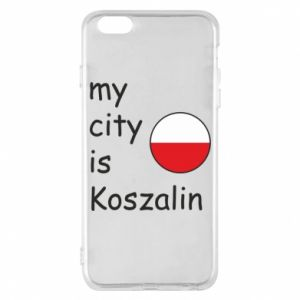 iPhone 6 Plus/6S Plus Case My city is Koszalin