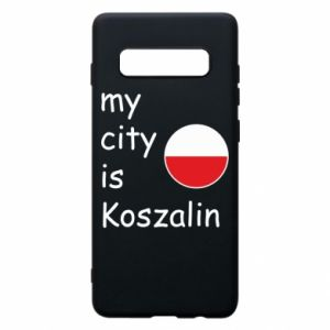 Samsung S10+ Case My city is Koszalin