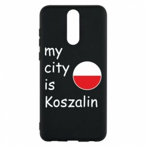 Huawei Mate 10 Lite Case My city is Koszalin