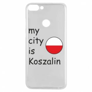 Huawei P Smart Case My city is Koszalin