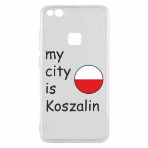 Huawei P10 Lite Case My city is Koszalin