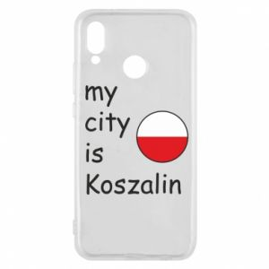 Huawei P20 Lite Case My city is Koszalin