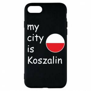 iPhone 7 Case My city is Koszalin