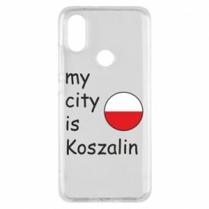 Xiaomi Mi A2 Case My city is Koszalin