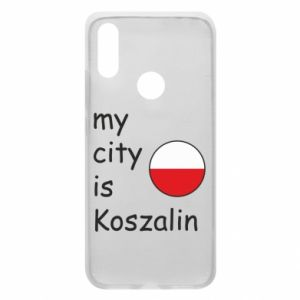Xiaomi Redmi 7 Case My city is Koszalin
