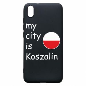 Xiaomi Redmi 7A Case My city is Koszalin