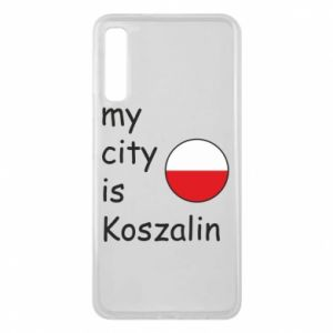 Samsung A7 2018 Case My city is Koszalin