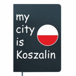 Notepad My city is Koszalin