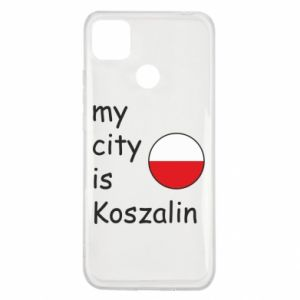 Xiaomi Redmi 9c Case My city is Koszalin