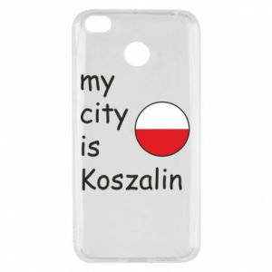 Xiaomi Redmi 4X Case My city is Koszalin
