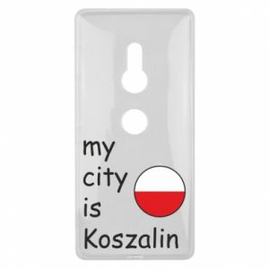 Sony Xperia XZ2 Case My city is Koszalin