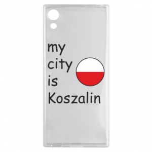 Sony Xperia XA1 Case My city is Koszalin
