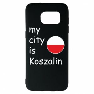 Samsung S7 EDGE Case My city is Koszalin