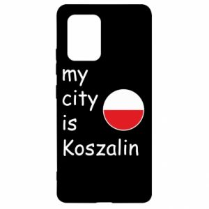 Samsung S10 Lite Case My city is Koszalin