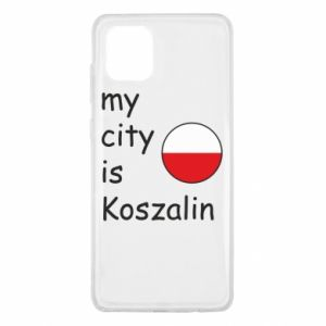 Samsung Note 10 Lite Case My city is Koszalin