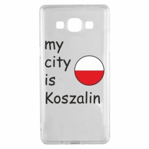 Samsung A5 2015 Case My city is Koszalin