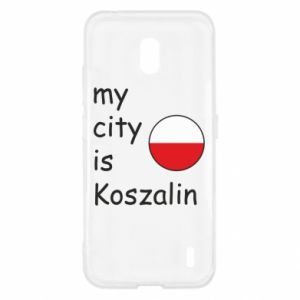 Nokia 2.2 Case My city is Koszalin