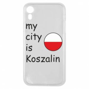 iPhone XR Case My city is Koszalin