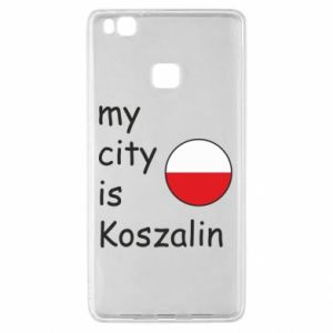 Huawei P9 Lite Case My city is Koszalin