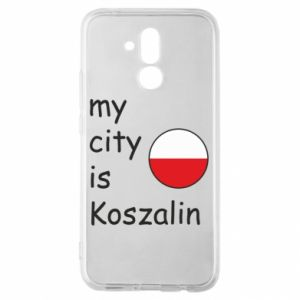 Huawei Mate 20Lite Case My city is Koszalin