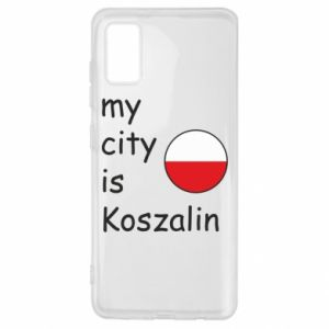 Samsung A41 Case My city is Koszalin