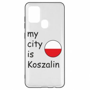 Samsung A21s Case My city is Koszalin