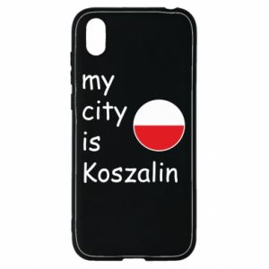 Huawei Y5 2019 Case My city is Koszalin
