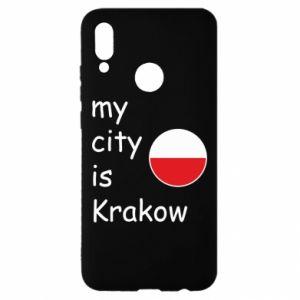 Etui na Huawei P Smart 2019 My city is Krakow