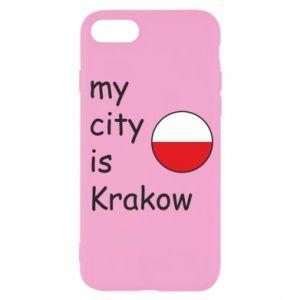 Etui na iPhone SE 2020 My city is Krakow