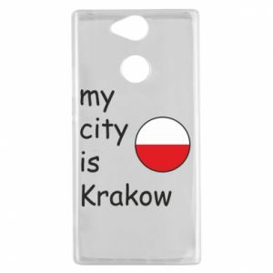 Etui na Sony Xperia XA2 My city is Krakow