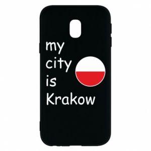 Etui na Samsung J3 2017 My city is Krakow